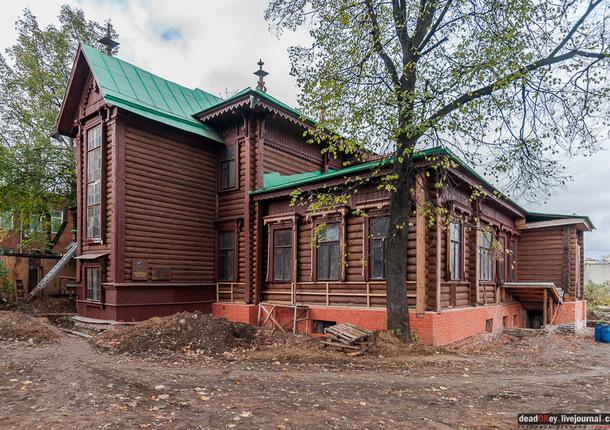 Дом Круминга в Люберцах откроют для посещения в следующем году