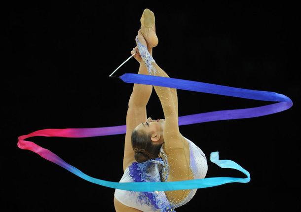 В Люберцах прошли соревнования по художественной гимнастике